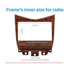 2007 honda accord dimensions quality wooden color 2din 2007 honda accord car radio fascia dvd