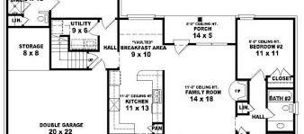 3bed 2bath Floor Plans House Floor Plans 3 Bedroom 2 Bath Contemporary Designs On