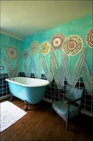 Large Shower Curtain Rings Bathroom Amazing Colorful Plastic Shower Curtains Floral Shower