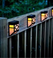 solar deck accent lights new deck lighting to go with the refinish mission style solar deck