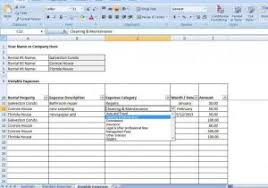 Excel Spreadsheet For Business Expenses by Business Expenses Template Spreadsheet For Expenses Expenses