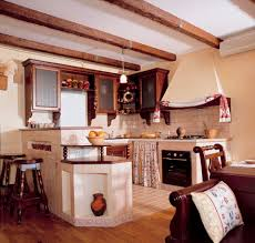 little apartment in a country style decoration trend