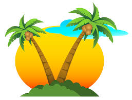 gallery clipart palms and sun png vector clipart gallery yopriceville high