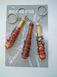 negan u0027s bat key chain the walking dead keychain halloween party