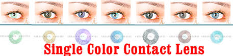 colored contacts color