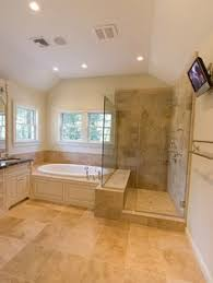 bathroom tub and shower designs gorgeous master bath large walk in shower glass door