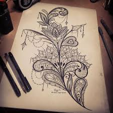 best 25 thigh tattoo designs ideas on pinterest lace tattoo