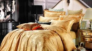 Red Gold Comforter Sets 11 Luxurious Gold Bedding Sets Intended For Gold Comforter Sets