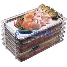 Stainless Steel Buffet Trays by Stainless Steel Stackable Buffet Tray 1 1 Gastronorm Size 20 9 X