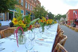 The Dining Room Jonesborough Tn Johnson City Press Jonesborough Farm To Table Dinner Serves 216
