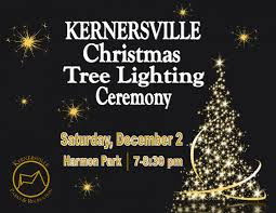 Christmas Tree Lighting Christmas Tree Lighting U2013 Kernersville Parks And Recreation