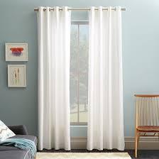 Sheer Off White Curtains Best 25 White Linen Curtains Ideas On Pinterest White Curtains