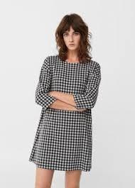 shift dress printed shift dress women mango usa