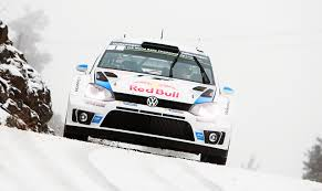 Pictures Tuning Volkswagen Rallying Polo Wrc Red Bull White Snow