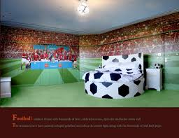 Football Area Rugs by Soccer Field Rug 8x10 Themed Bedding Set Bedroom Pitch Football