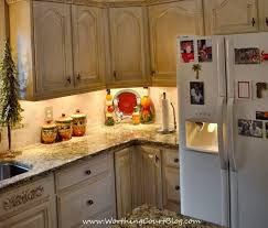 Oak Cabinets In Kitchen by Angela U0027s Diy French Country Kitchen Makeover Worthing Court