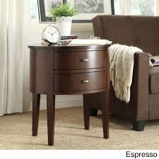 Small White Accent Table Coffee Tables Exquisite Terrific Aldine Drawer Oval Wood Accent