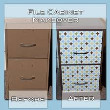 contact paper file cabinet spray paint ugly file cabinet to match brown in contact paper no