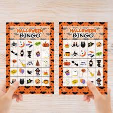 Printable Halloween Bingo by Bingo Halloween Photo Album A Halloween Party Game For Kids And