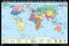 Map Of World War 1 by Klett Perthes Classroom History Maps The World From 1919 To The