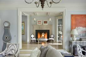 gray paint color ideas living room traditional with grandfather