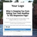 responsive capture page template download