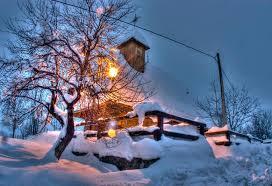 winter holidays at plitvice lakes ranch terra