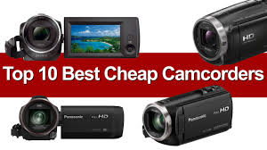 top 10 best cheap camcorders 2017 compare buy u0026 save heavy com