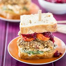 vegan gluten free thanksgiving leftovers sandwich a special