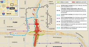 map plano getting around richardson plano may take longer this weekend as
