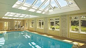 swimming pools with timber abd glass david salisbury