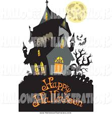 royalty free house stock halloween designs