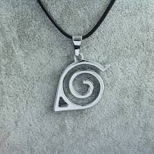naruto pendant necklace images Japan hot anime naruto leaf symbol necklace naruto cosplay jpg