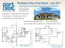 floor plan of an office home plan of the month portside builders u2022 new home ideas
