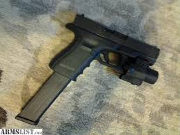 glock 19 laser light combo armslist for sale glock 19 9 mm 32 rnd clip tlr 4 laser light