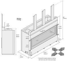 Fireplace Insert Dimensions by 4415 Ho Gsr2 Gas Fireplace Fireplace Xtrordinair