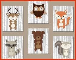 cadres chambre bébé tableau chambre bebe animaux beautiful cadres animaux de la forªt
