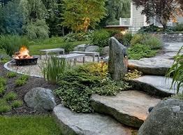 natural backyard rustic backyard backyard landscaping charles c