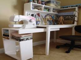 Craft Desk With Storage Craft Table With Storage With Sewing Tool U2014 Jen U0026 Joes Design