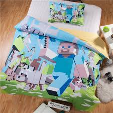 Wholesale Bed Linens - presell minecraft duvet cover set twin full queen size minecraft