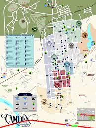 Camden County Maps Camden Area Map Classically Carolina Visit Camden U2013 Kershaw