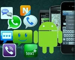 sms app for android three android messaging apps with a something one