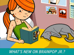 new on brainpop jr compound words and chickenpox appetizers