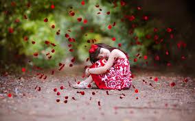 2560x1600 cute kids rose petals childrens cute baby cute