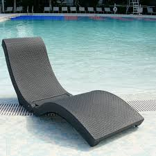 Plastic Beach Chairs Furniture Purple Floating Pool Lounge Chair With Thick Material