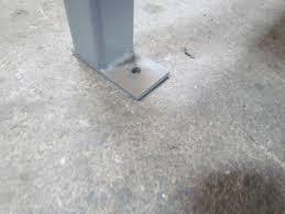 welded steel industrial work bench w 1 3 4 u0026 034 butcher block top