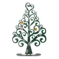 vardool art limited edition metal christmas tree card holder with
