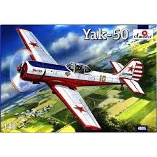 yakovlev design bureau yak 50 yakovlev design bureau 1 48 amodel 4805 ebay