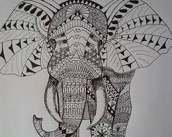 coloring gecko zen tangle zen doodle ink