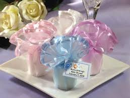 candle baby shower favors lmk gifts baby shower wavy tulle candles favors